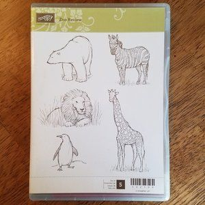 Stampin'  Up! - Zoo Review Stamp Set